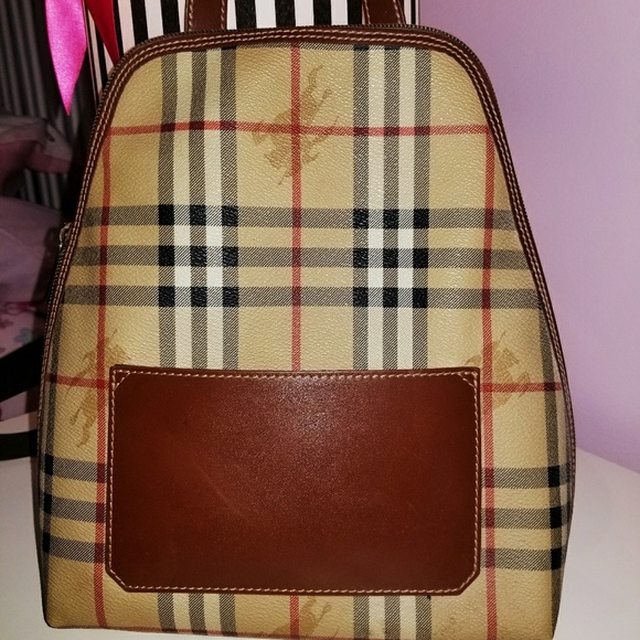 e6bf608d34a3 Burberry Handbags - Burberry London Ckeckers Backpack